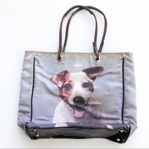 Anya Hindmarch Jack Russell Dog Puppy Purse Bag